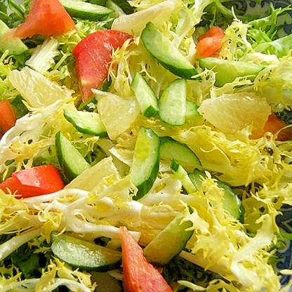 デリ風❤エンダイブ&グレープフルーツのサラダ♪
