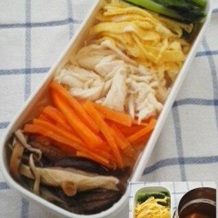 お出汁で頂く☆鶏飯弁当