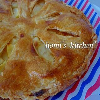 濃厚クリームチーズのアップルパイ