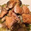 鮭とキャベツの簡単ソテー