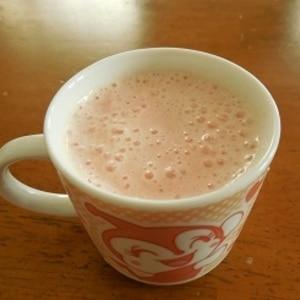 ふわふわ~♡二層のフローズントマトミルク♡
