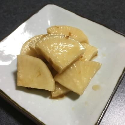 棒状でなく厚めのいちょう切りで作りましたが、歯ごたえも味もとってもよかったです(^-^)♪この漬け汁いいですね!