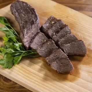 自宅で簡単!鹿ももブロック肉のローストビーフ