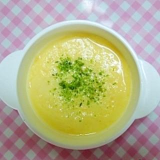 離乳食中期~ 一番簡単!レンジでプルルン❤茶碗蒸し