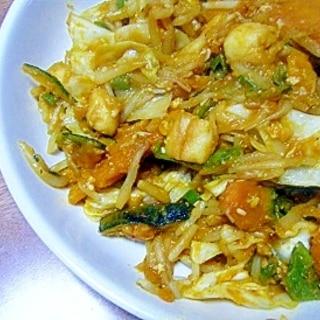 野菜のコンソメ味噌炒め★