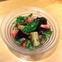 焼き茄子とトマトのバルサミコサラダ
