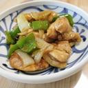 鶏肉&ピーマンのカレー炒め