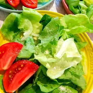 フレンチ風チーズサラダ♪サラダ菜&トマト