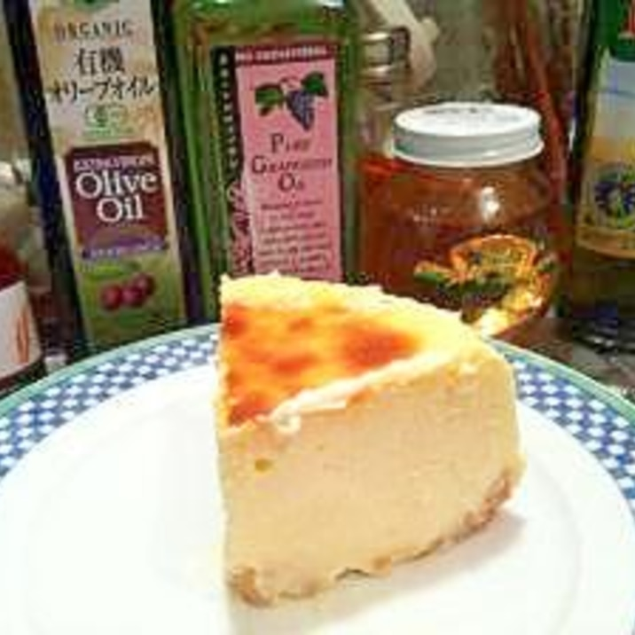 本格っぽい!チーズケーキ