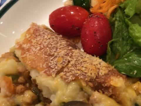 大豆のお肉と野菜たっぷりシェパーズパイ
