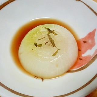 新玉ねぎのレンチンおつまみ