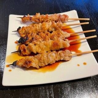 焼き鳥レシピ!鶏皮のタレ味