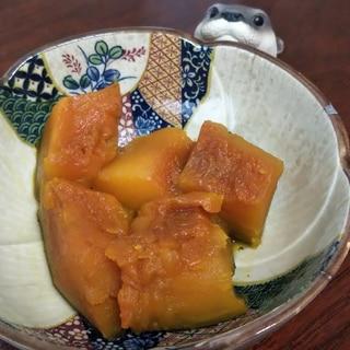 覚えやすい分量でお弁当にも☆かぼちゃの煮物