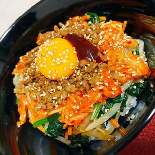 野菜たっぷり☆ビビンバ丼