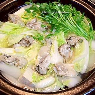 牡蠣の潮なべ