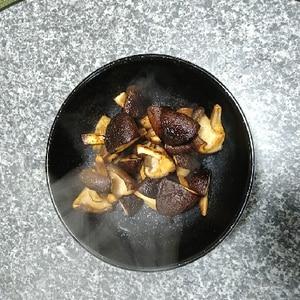 デパ地下で教えてもらった☆椎茸のめんつゆ焼き