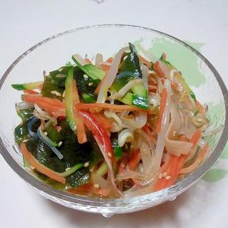 具だくさん!中華春雨サラダ++