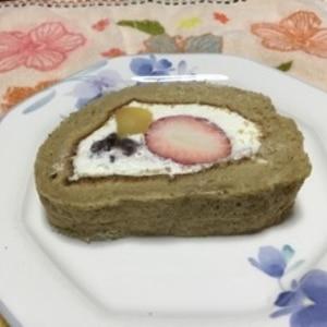 フルーツたっぷり☆ロールケーキ