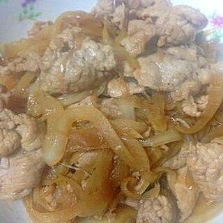 塩麹で豚のショウガ焼き