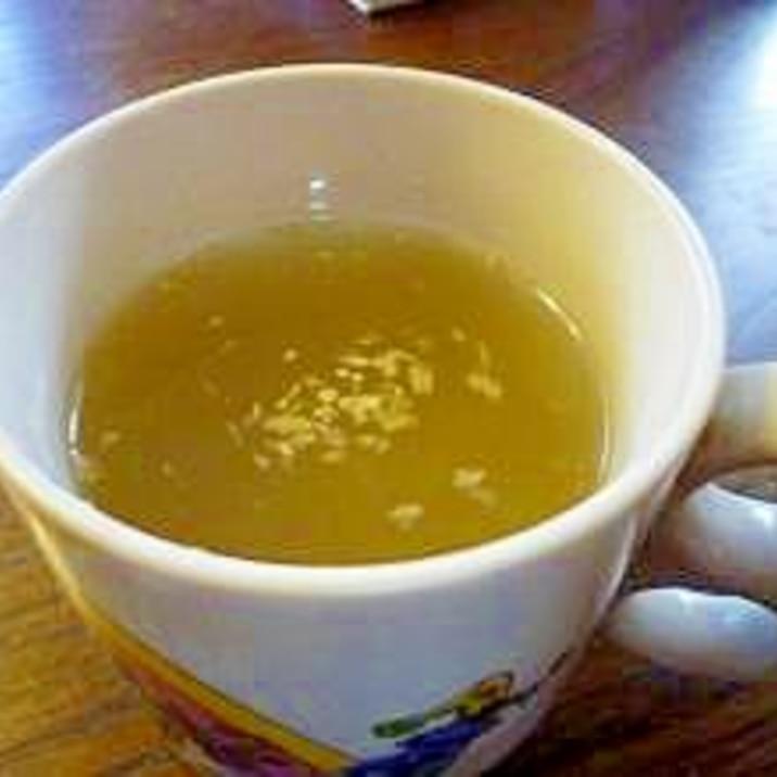 手軽にポカポカ♡はちみつしょうが茶