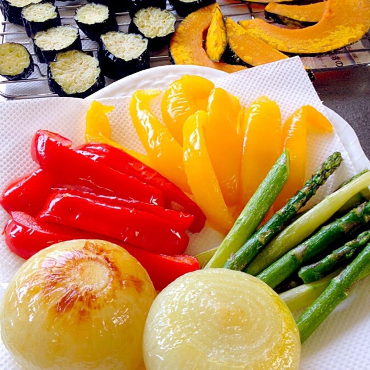 野菜 の 素 揚げ