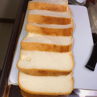 ホームベーカリーで簡単グルテンフリーお米パン