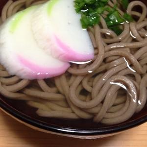 シンプル♪シンプル♪あったかい蕎麦(*^^*)