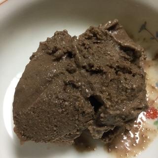 バナナとチョコレートでアイスクリーム風