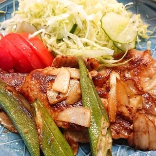 豚ロースと新生姜の生姜焼き