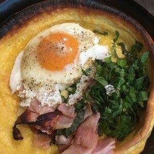アメリカの朝食☆ダッチベイビー