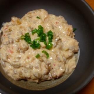 豆腐キムチ納豆