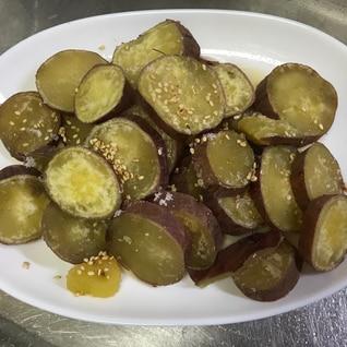 冷凍保存方法♬茹でたサツマイモ