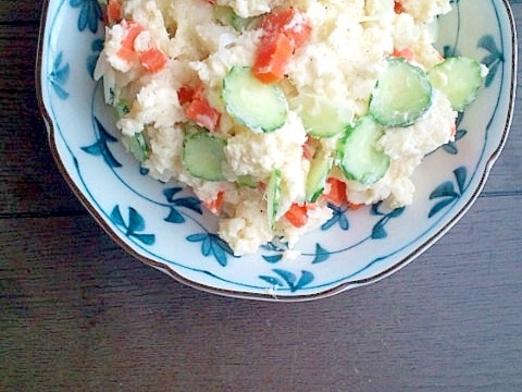 懐かしいおふくろの味♪☆おうち風ポテトサラダ