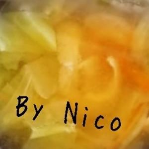 キャベツとにんじんの味噌汁