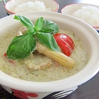 タイ料理★基本の辛旨グリーンカレー