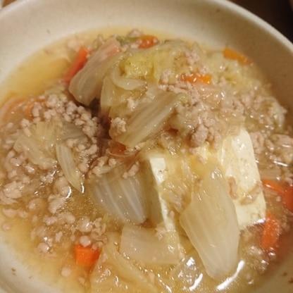 とろける白菜とお豆腐の相性が最高でした(о^∇^о)ごちそうさまでした!