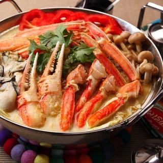 プーパッポンカリー風鍋(カニのココナッツカレー鍋)