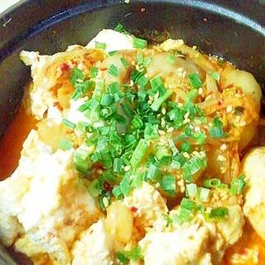 簡単ダイエット★サバ水煮缶でキムチ燃焼煮