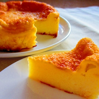 ベビーチーズdeベイクドチーズケーキ