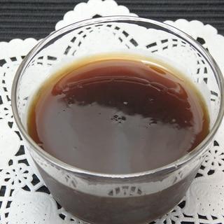 とっても簡単♪インスタントコーヒー寒天の作り方