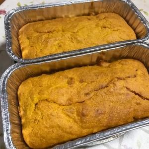 かぼちゃとおからパウダーのパウンドケーキ