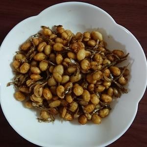 大豆の甘辛炒め煮★大豆水煮で超簡単