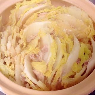 辛味噌☆白菜と豚バラのミルフィーユ鍋