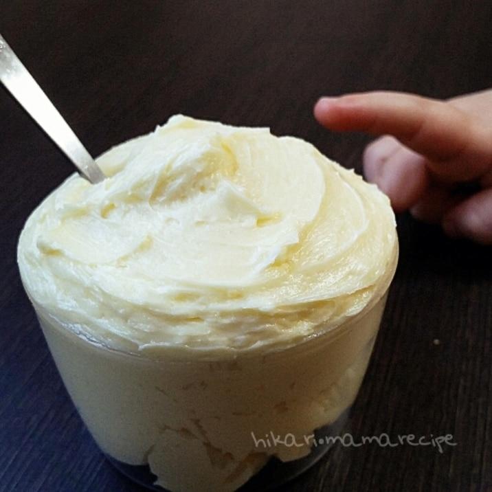 混ぜるだけ♡パンやマカロンに万能ミルククリーム♪