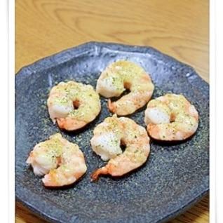 オーブントースターで簡単海老マヨ焼き