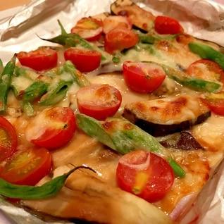 茄子とトマトの味噌チーズ焼き