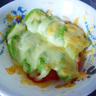 ☆トースターで簡単♪トマトとアボカドのチーズ焼き☆