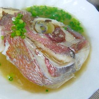 ❤ 鯛の頭で!! 鯛の頭の御味噌汁 ❤