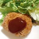 ふわふわの豆腐ハンバーグ