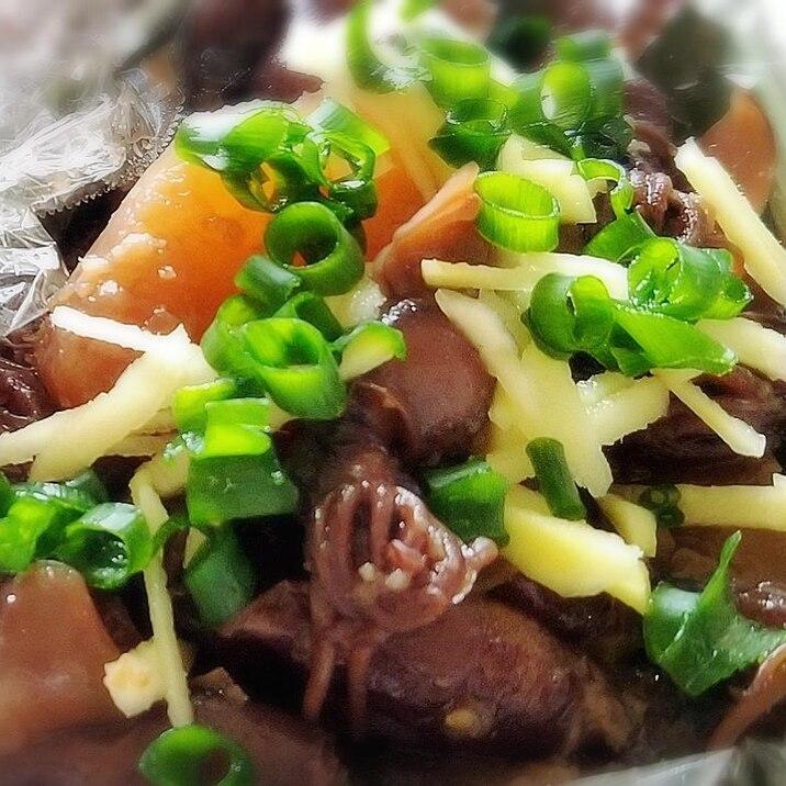 生姜たっぷり! ホタルイカと大根の甘辛煮☆